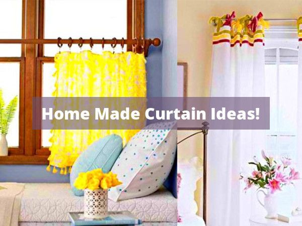 Diy Kitchen Curtains Pinterest And Shade And Curtain Projects To Personalize Your Windows Kids Decor In 2020 How To Make Curtains Bedroom Diy Curtains