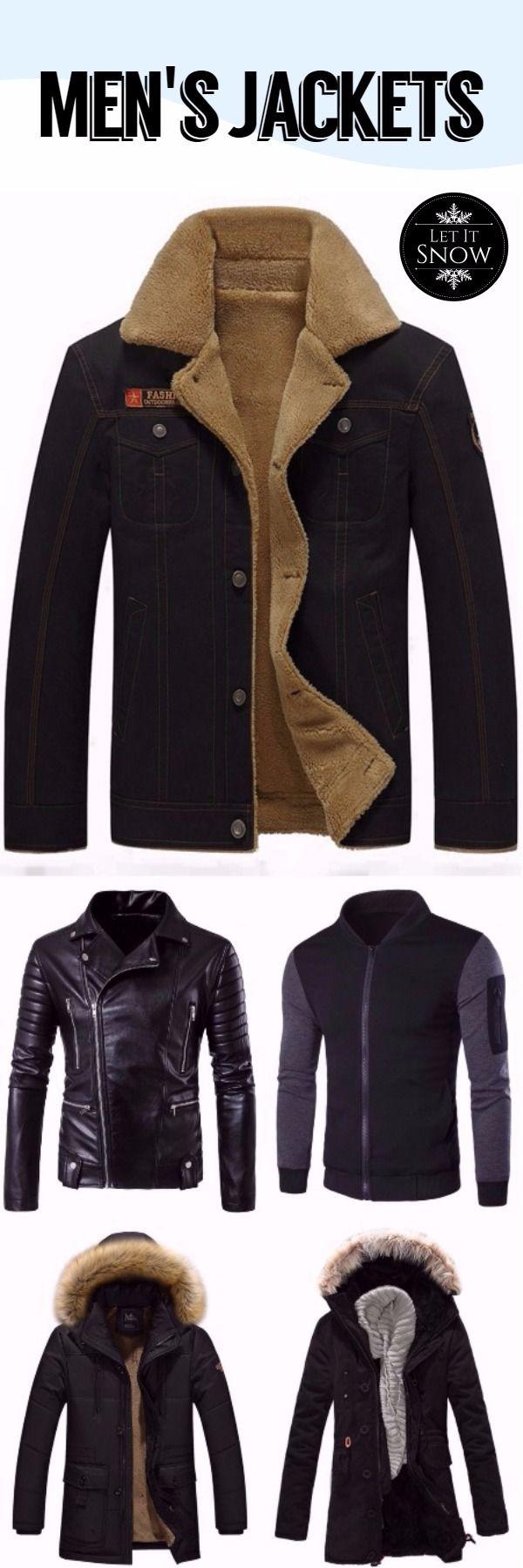 #Men's #Jackets #2017~2018 Up To 90% OFF   Men's Fashion   Fall & Winter Fashion   Sammydress.com