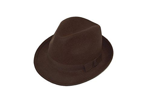 GIZZY® Unisex Wool Felt Trilby Hat with Grosgrain Band. (58cm, Brown) GIZZY® http://www.amazon.co.uk/dp/B00FEHJ4TC/ref=cm_sw_r_pi_dp_7Xh3wb1E2E0PS