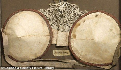 Breast enhancer: The padded bra, which will be on display at the Science Museum on Wednesday, was designed and made in Europe in around 1880    Read more: http://www.dailymail.co.uk/femail/article-1268276/The-push-bra-Bust-booster-dates-1800s.html#ixzz28LottlGy