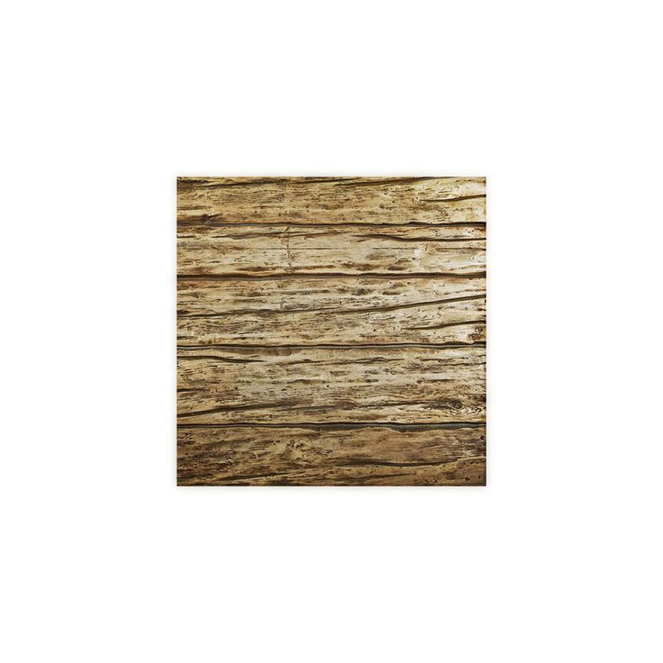 6-Inch W x 6-Inch H River Wood Endurathane Faux Wood Siding Panel Sample, Weathered White - 19.99