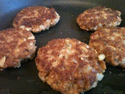 Der Apfel Vegetarier... nun Veganer: Hammermäßig herzhafte vegane vegetarische Frikadellen