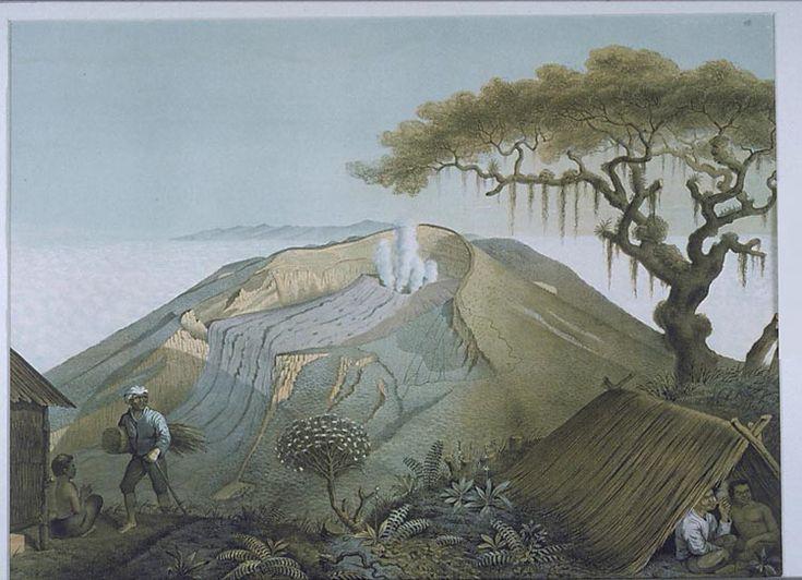 De Gunung Gede op Java