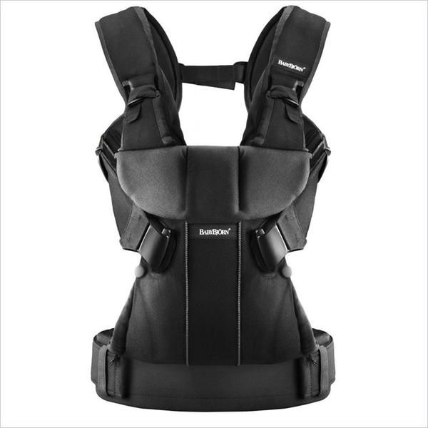 Baby Bjorn Baby Carrier One In Black Cotton Mix