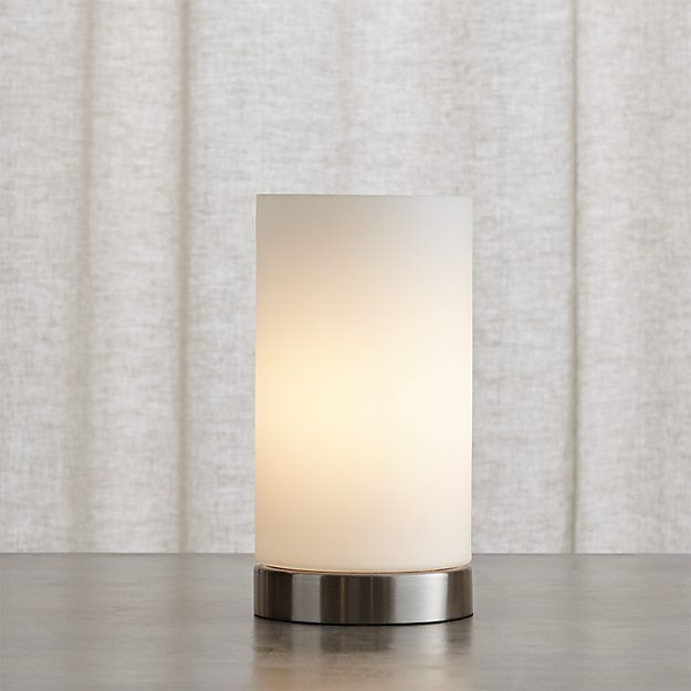 Glow Cylinder Table Lamp Reviews Crate And Barrel