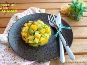 Tartare salé {avocat, mangue et ananas} parfumé à la vanille • Hellocoton.fr