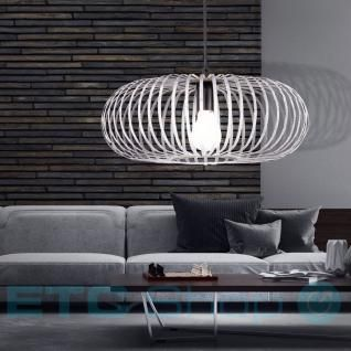 Hänge Leuchte Pendel Schlafzimmer Lampe Metall Käfig grau Decken Strahler Trio Leuchten 306900161 - Vorschau 4