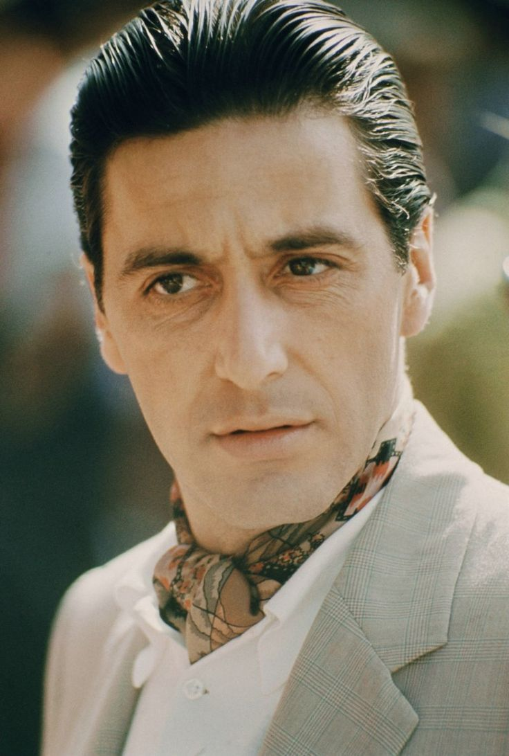 Characters: Michael Corleone (Al Pacino) in The Godfather ...