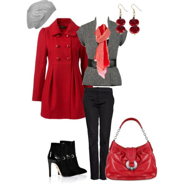 Outfit: Winter Outfit, Red Outfit