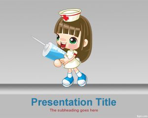Sexy Nurse PowerPoint Template is a free nursing background for PowerPoint that you can use for presentations