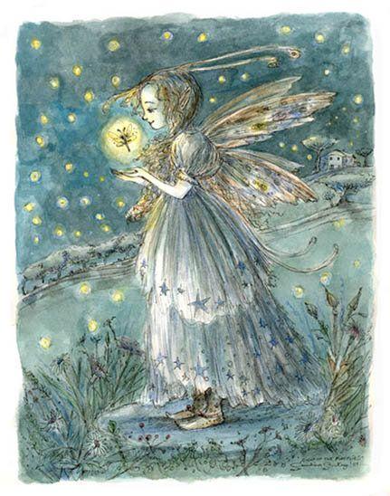 Night of the Fireflies by paulina
