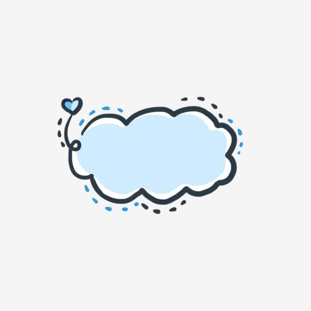 Blue Cloud Border Decoration Blue Clouds Black Border Dash Line Png Transparent Clipart Image And Psd File For Free Download Blue Clouds Cloud Stickers Prints For Sale