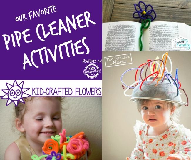 Pipe Cleaner Crafts. Let the fun begin!