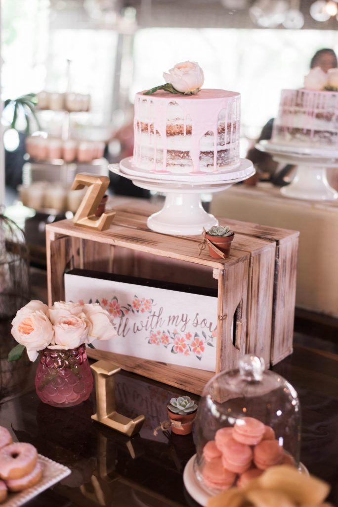 Bridal Shower Sweets | TrueBlu | Edelle Photography