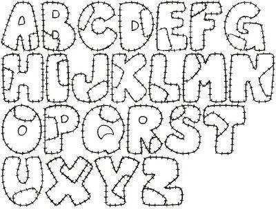 felt numbers pattern