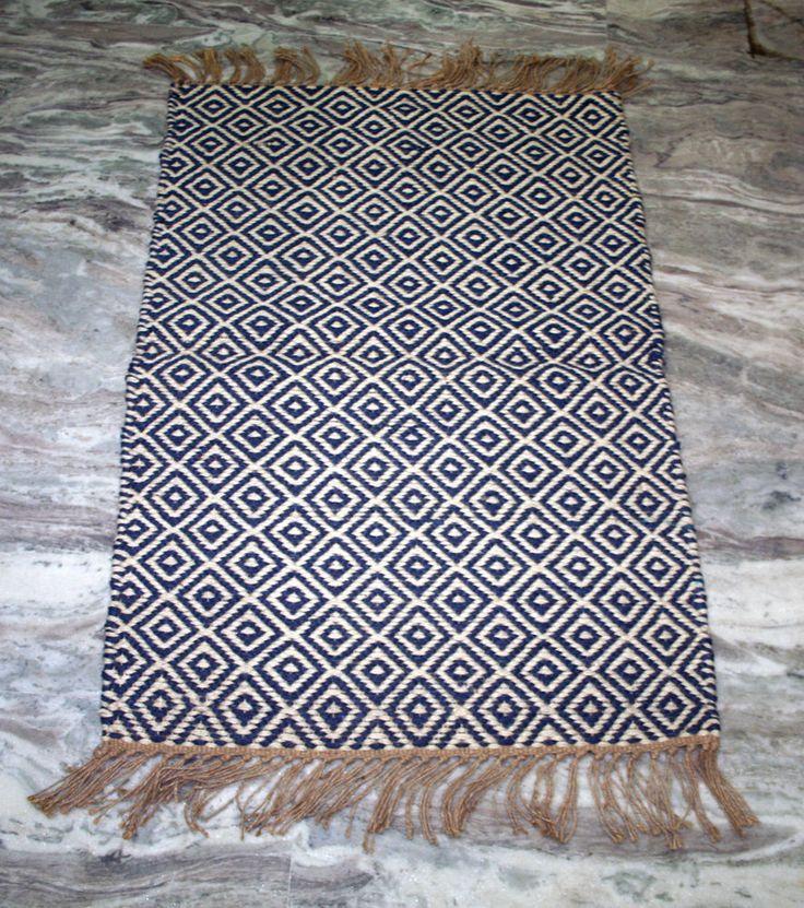 Turkish Kilim Door Mat Rug,Vintage Kilim,Jute 2x3 FT Area Door Mat Rug,Carpet #Handmade #DoorMat