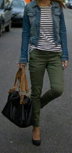 I would wear flats but other parts of this outfit are amazing.