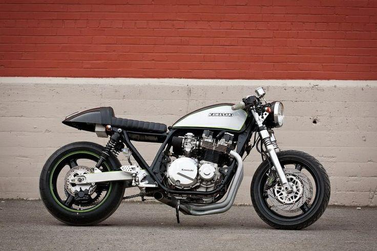 cafe racer kawasaki | sparkplugs | pinterest | motorbikes