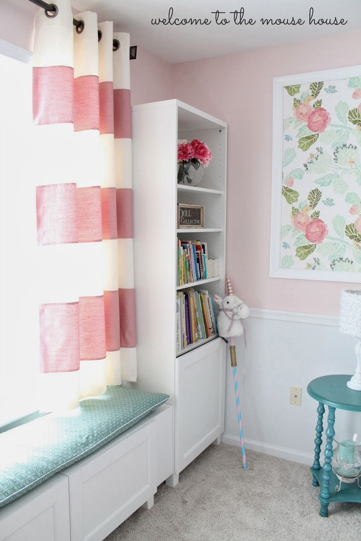 Decorating theme bedrooms maries manor window treatments curtains - Love This Window Seat Diy Curtains Short