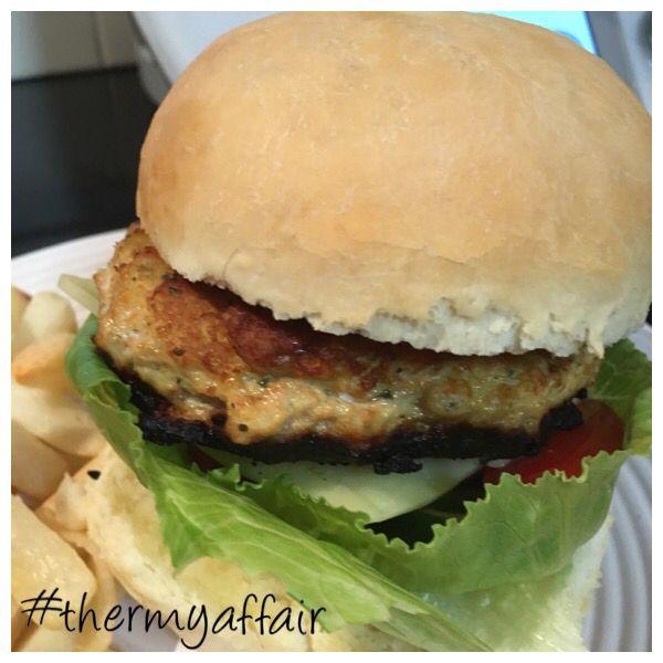 Skinny Mixers Chicken Teriyaki Burger Patties #skinnymixers #thermyaffair #tm5 #thermomix