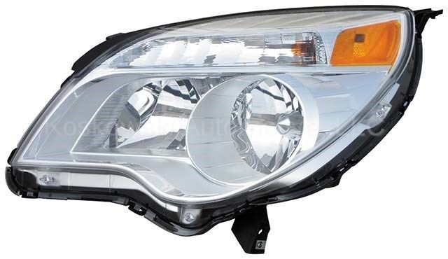 Chevy Equinox Left Head Lamp Headlight Dorman 1592260 Driver Side 2010 2011 #Dorman