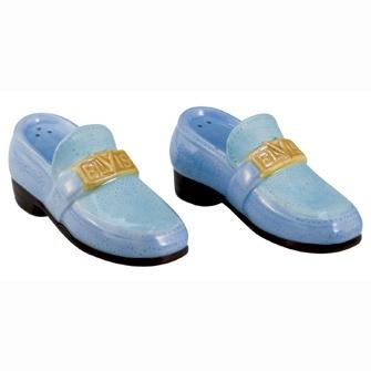 Elvis - Blue Suede Shoes salt & pepper shakers