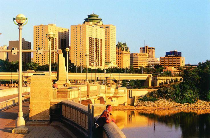 Winnipeg Architecture - on the Red River #GILoveManitoba