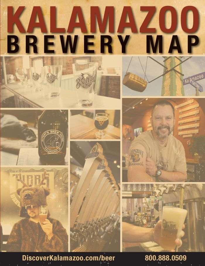 Kalamazoo Brewery Map The taps at our breweries change a lot more often than our seasons, so be sure to drink in all the varieties of styles and tastes. Check out our local breweries and brew-centric restaurants and pubs. Or better yet, plan a pub crawl or brewery tour to experience quality by the barrel. Over half …