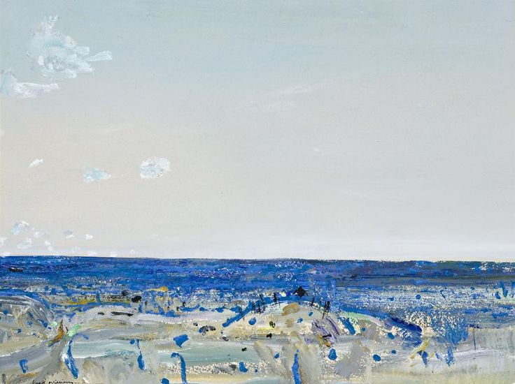 "blastedheath: ""Fred Williams (Australian, 1927-1982), Avenel, c.1975. Gouache on paper, 54 x 72 cm. """