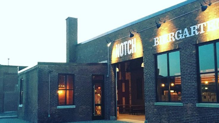 Notch Brewery - Salem - for beers, pretzels, bar snacks, and sausage