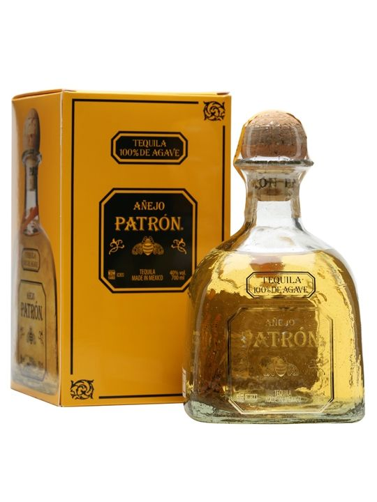 Patron Anejo Tequila : The Whisky Exchange
