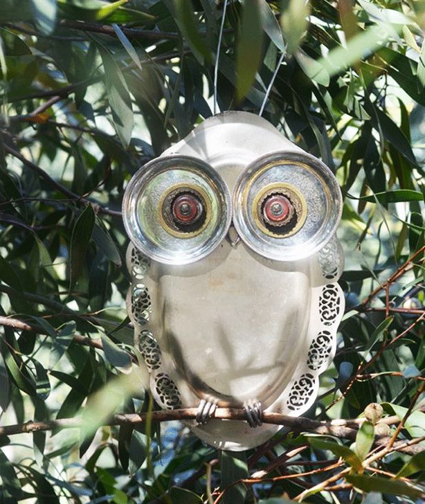 robyn-stewardson-owl-garden-ornaments-from-recycled-kitchenware