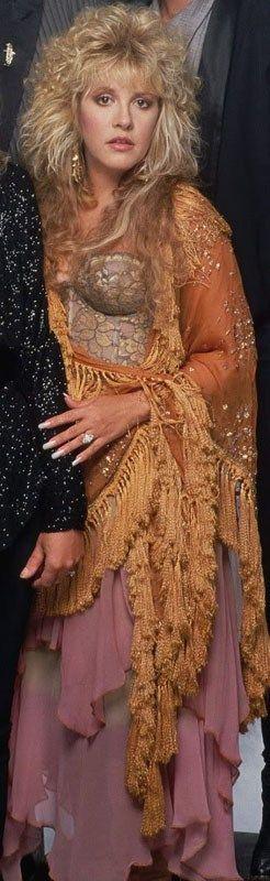 Stevie Nicks-Lovely theatrical Boho.
