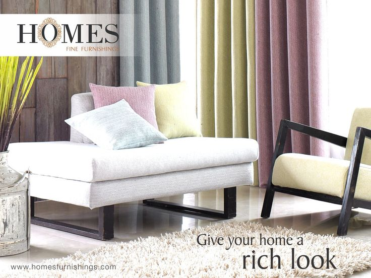 Keep it simple & sober, adding a touch of #Elegance with new #Collections from #HomesFurnishings. Explore more on www.homesfurnishings.com #HomeFabrics #Cushions #Upholstery #Furnishings #FineFabric‬
