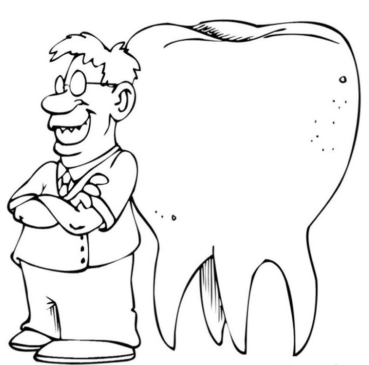 free coloring pages dentist - photo#12
