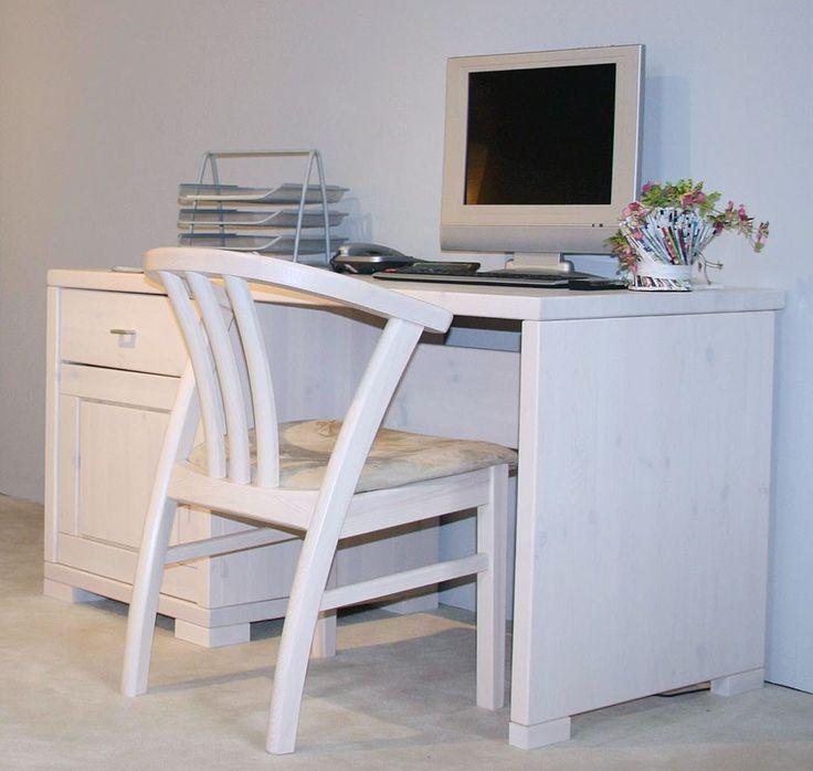 Schreibtisch weiß vintage  Die besten 25+ Schreibtisch weiß holz Ideen auf Pinterest ...