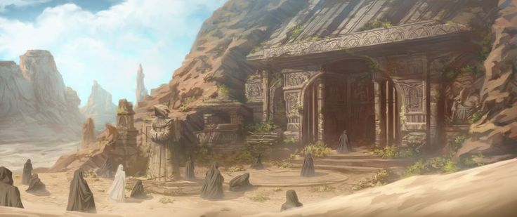 Digital Art | Desert Temple by AnthonyFoti | Check out more great content at: www.emrld14.com