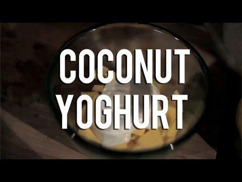 The Raw Chef TV | Raw food recipe for coconut yoghurt - YouTube