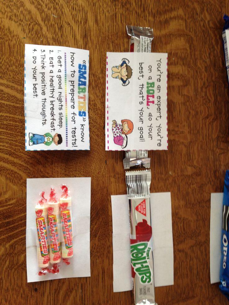 Testing treats--smarties & Fruit roll up | Room Parent ...