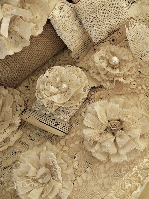 lacework and buttons