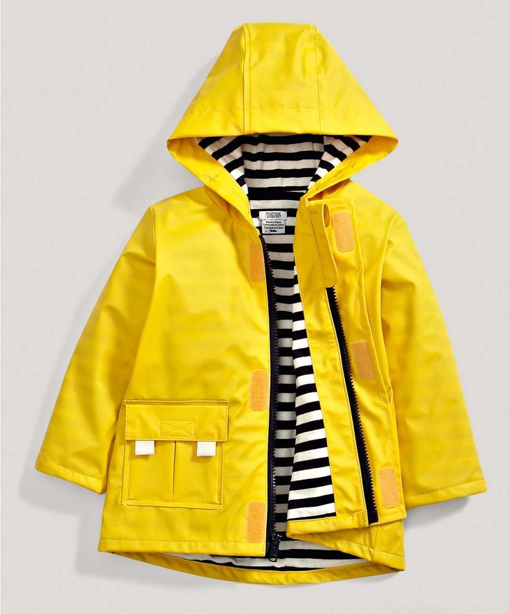 Boys Yellow Rain Mac - New Arrivals - Mamas & Papas