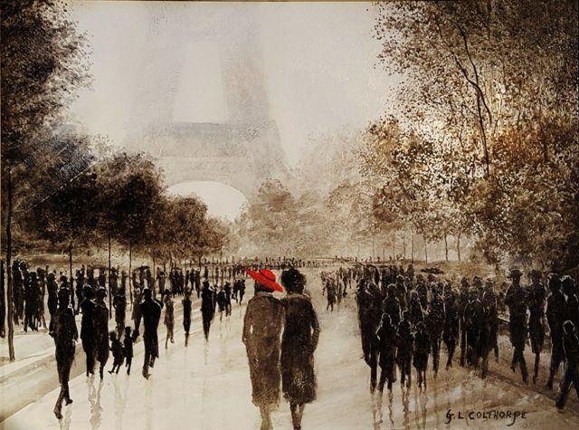 Autumn Sunlight, Paris - Graham Colthorpe