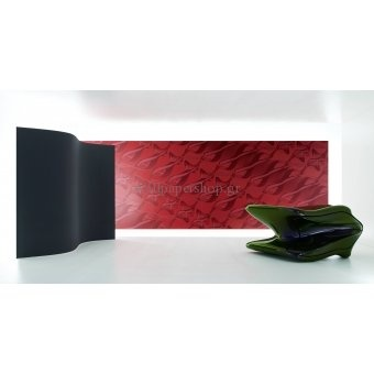 Wallpapers :: Modern :: Zaha Hadid Swirl Part I Red 3.00x3.30 No 1365 - WallpaperShop