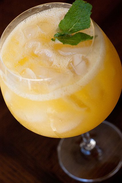 Homemade Peach Wine Coolers