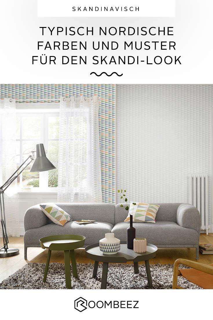 Skandinavische Farben Deko Und Einrichtungsbeispiele Wohnen