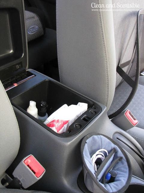Clean & Scentsible: DIY Complete Car Organization Guide ! Her Organization Post Are Fun & Thorough ! Step by Step Instructions -Even has Printable List For Everything !!