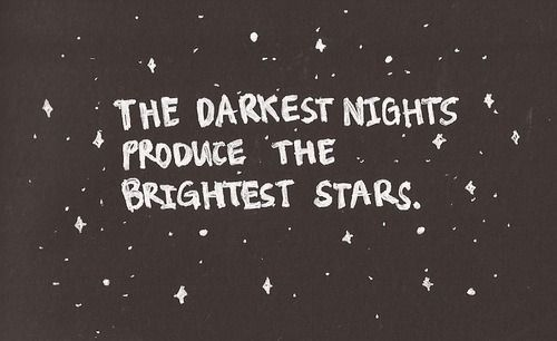 Even in the darkest of times, the brightest of bright places can come about. #WednesdayWisdom #AllTheBrightPlaces