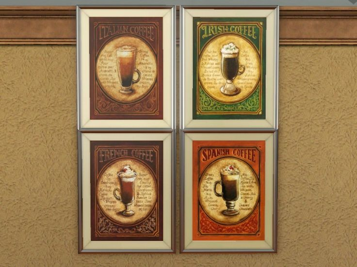 Wall Coffee Decor For Kitchen, Coffee Part 95