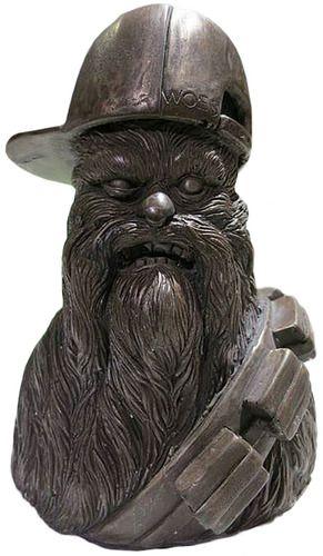'Bronze Chewballer Bust' by Weobots (Aaron Martin)