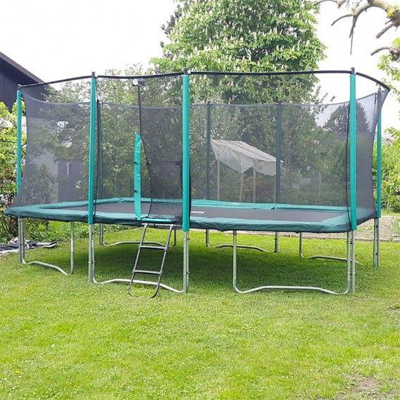 Atmosphär 500 Trampolin im Garten